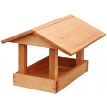 KRMÍTKO Krmítko dřevěné č. 19, 24x30x20 cm, hnědé