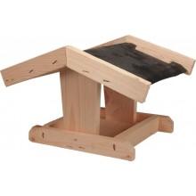KRMÍTKO Krmítko dřevěné č. 6, 24x22x17 cm, přírodní