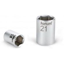 """FORTUM hlavice nástrčná, 1/2"""", 15mm, L 38mm, 61CrV5 4700415"""