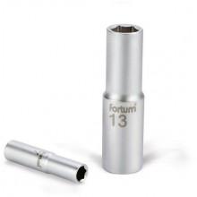 """FORTUM hlavice nástrčná prodloužená, 1/2"""", 13mm, L 77mm 4700513"""
