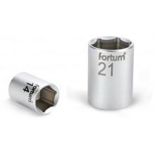 """FORTUM hlavice nástrčná, 1/4"""", 7mm, L 25mm, 61CrV5 4701407"""