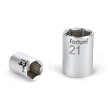 """FORTUM hlavice nástrčná, 1/4"""", 8mm, L 25mm, 61CrV5 4701408"""