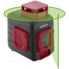 FORTUM laser zelený liniový, křížový samonivelační 4780209