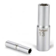 """FORTUM hlavice nástrčná prodloužená 1/4"""", 8mm, L 50mm 4701521"""