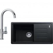Franke SET G119 (dřez BSG 611-78/39 grafit+baterie FP 0408.031) 114.0441.089