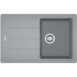 Franke Basis BFG 611-78, 780x500 mm, Fragranitový dřez, šedý kámen 114.0285.186