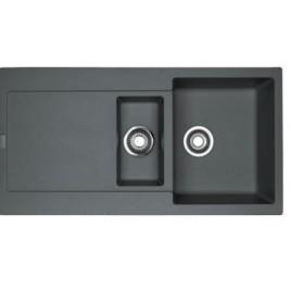 Franke Maris MRG 651, 970x500 mm, granitový dřez, šedý kámen 114.0120.253