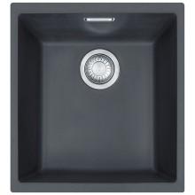 Franke Sirius SID 110-34, 365x440 mm, tectonitový dřez, černá 125.0363.785