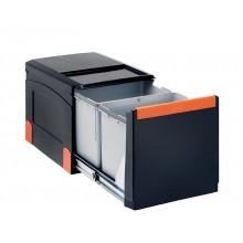 Franke sorter Cube 41 (2x18 l), odpadkový koš 134.0055.270