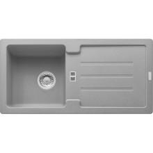 Franke Strata STG 614, 860x435 mm, fragranitový dřez, šedý kámen 114.0263.980