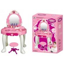 Dětský kosmetický stolek G21 s fénem 690401