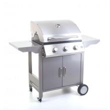 G21 Plynový gril Oklahoma, BBQ Premium Line 3 hořáky + zdarma redukční ventil 6390310