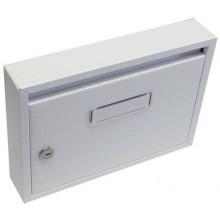 Schránka poštovní paneláková 325x240x60mm bílá bez děr 63921672