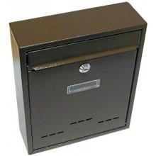 Schránka poštovní RADIM malá 310x260x90mm hnědá 6392162