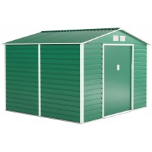 G21 Zahradní domek GAH 706 - 277 x 255 cm, zelený 63900558