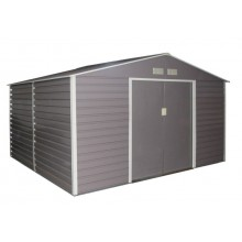 G21 Zahradní domek GAH 1085 - 340 x 319 cm, šedý 63900571