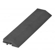 G21 WPC Přechodová lišta pro dlaždice Eben 30 x 7,5 cm rovná 63910032