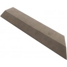 G21 WPC Přechodová lišta pro dlaždice indický teak, 38,5 x 7,5 cm rohová (pravá) 63910062