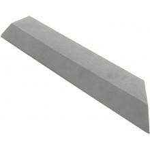 G21 WPC Přechodová lišta pro dlaždice Incana, 38,5 x 7,5 cm rohová (pravá) 63910063