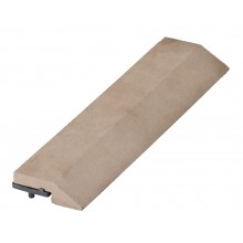 G21 WPC Přechodová lišta pro dlaždice indický teak 30 x 75 cm rovná 63910065