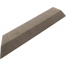 G21 WPC Přechodová lišta pro dlaždice indický teak 38,5x7,5 cm rohová (levá) 3910068
