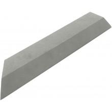 G21 WPC Přechodová lišta pro dlaždice Incana 38,5x7,5 cm rohová (levá) 63910069