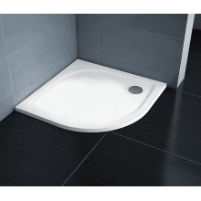 RAVAK Elipso PRO 90 FLAT čtvrtkruhová sprchová vanička XA237711010
