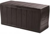KETER SHERWOOD 270L zahradní úložný box 117 x 45 x 57,5 cm, hnědá 17198596