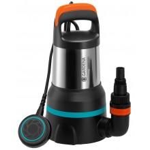 GARDENA 15000 2 v 1 Ponorné čerpadlo pro čistou a znečištěnou vodu, 550W 9048-20