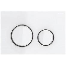 Geberit Sigma21 Ovládací tlačítko, pro 2 množství splachování, kovová barva pochromované 115.884.SI.1