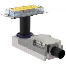Geberit CleanLine Souprava pro hrubou montáž sprchového kanálku, 90-200 mm, odpad 50mm 154.150.00.1