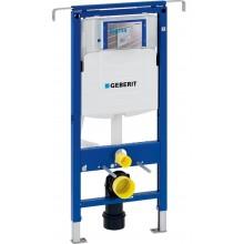 Geberit Duofix montážní prvek pro závěsné WC, 112 cm, se splachovací nádržkou pod omítku Sigma 12 cm, k instalaci mezi boční stěny 111.355.00.5