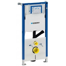 Geberit Duofix - Montážní prvek pro závěsné WC, 112 cm, splachovací nádržka pod omítku Sigma 12 cm, pro odsávání zápachu 111.367.00.5