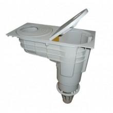 Lapač střešních splavenin - DN 110/125 šedý, CR1022