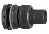 Výtokové hrdlo k nádržím PVC-U/EPDM TYP 050 compaktní 32x6/4