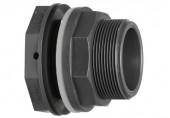 Výtokové hrdlo k nádržím PVC-U/EPDM TYP 050 compaktní 25x5/4
