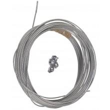 Grundfos Sestava lanka s nerez oceli 20m (pr. 2mm) + 4x úchytka 91042982