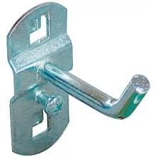 GÜDE Háček na nářadí s šikmým zakončením 50 mm, 2ks 40743