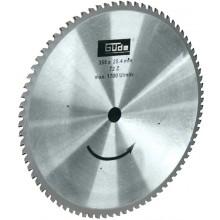 GÜDE Pilový kotouč pro řezání kovu vhodný k pile GMK 350 T 40539