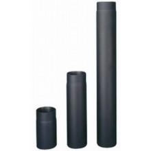HAAS+SOHN Trubka kouřovodu, černá 1 m, 130 mm (1,5)