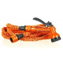 COBRA Zahradní flexi hadice 7,5-22,5m se stříkací pistolí, oranžová