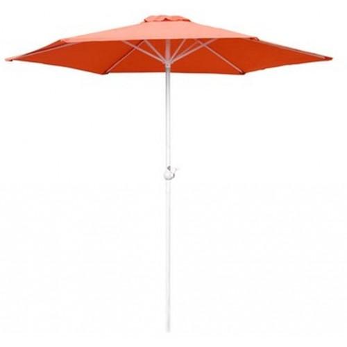 HAPPY GREEN Slunečník s kličkou 230 cm, oranžová 50EAU003AO