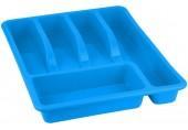 HEIDRUN příborník velký, 5 x 39 x 29 cm modrý 211