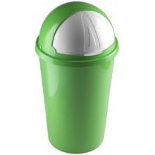 HEIDRUN Odpadkový koš SWING 6 l, zelený 1357