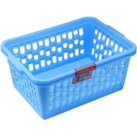 HEIDRUN Sada košíčků 2ks, 14 x 36 x 25 cm, modrá 21094