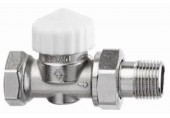 "HEIMEIER Termostatický ventil 3/8"" CALYPSO-exact, DN10, zkrácený, přímý 3452-01.000"