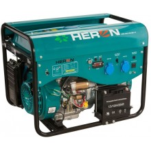 HERON LPGG 50 elektrocentrála benzínová a plynová 13HP / 5KW 8896318