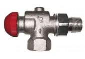 """HERZ-TS-90-V-Termostatický ventil axiální 3/8"""", M 28 x 1,5 s přednast., skrytá regulace 1772865"""