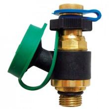HERZ Měřící ventilek s vypouštěním, pro počítač HERZ modrá krytka 2028420