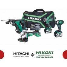 HiKOKI (Hitachi) KC18DG4LWDZ Set akumulátorového nářadí